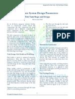 Fish Tank Shape and Design
