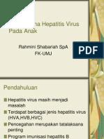 180985004 Tatalaksana Hepatitis Virus Pada Anak Ppt