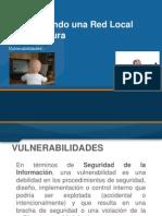 Instalacion y Conf Redes - Vulneravilidades