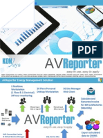 AVReporter - Case Study on Redundant Enterprise Energy Management System