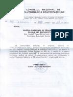 DECIZIA CNSC NR 253 C2 5468 DIN 19-01-2013 - Model Pt Justificare Descalificare