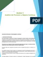 Modulo Analisis de Procesos y Mejora Continua 5