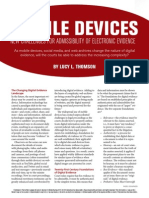 Mobiledevices New Challenges Admissibility of Electronic Device.authcheckdam