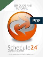 Intellicate Schedule24 Standard 3 - User Guide and Tutorial