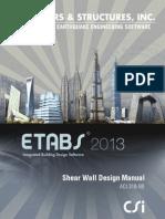 CSI Shear Wall Design Manual ACI318