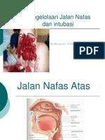 Airway Managemen Dan Intubasi