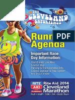 2014 Runner's Agenda