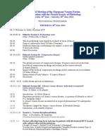 EVF Paris - Scientific Programme (18 4 14)