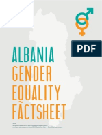 Albania gender equality fact sheet