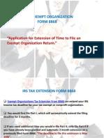 Exempt Organization Slides