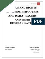 Ad Hoc Employees