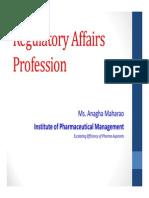 Regulatory Affairs Profession