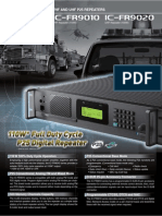 Icom IC-FR9010 IC-FR9020 Brochure