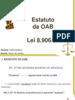 Aula 1_ Estatuto OAB