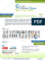 Global ManuChem Strategies 2014 - Post Event Report