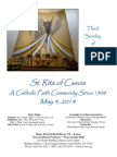 St. Rita Parish Bulletin 5/4/2014