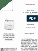 Boulnois(1998)Rigueur de La Charité