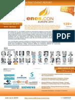 ener.CON Europe 2014 - Post Event Report