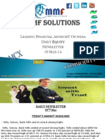 MMF Solutions Today's Equity Newsletter 09 May-14