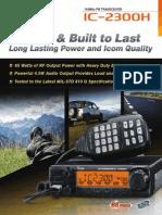 Amateur IC-2300H Brochure