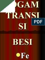 LOGAM  TRANSISI