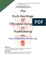 Dhrupad Sangeet in Pushtimarg