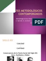 Los Debates Metodológicos Contemporáneos 2014 PDF