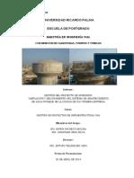 Trabajo 01 Sistema de Abastecimiento de Agua - Informe v1