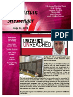 May 11 Newsletter