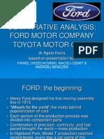 Presentation Ford & Toyota En