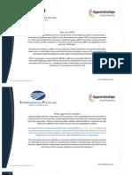 IFDS Apprenticeship Overview
