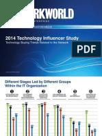 Network World Tech Influencer Study 2014