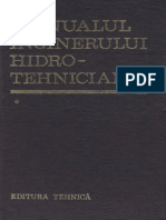 Manualul Inginerului Hidrotehnician Vol 1