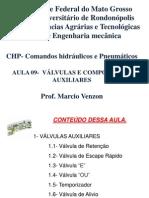 Aula 09 CPH -Valvulas e Componentes Auxiliares