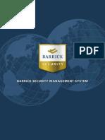 Barrick Security Management System