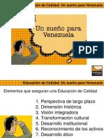 Educacion de Calidad Un Sueño Para Venezuela