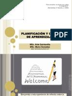 Planificación y Ciclo de Aprendizaje Aida