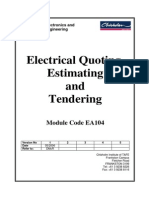 EA104 Estimating