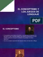 El Conceptismo y Los Juegos de Lenguaje