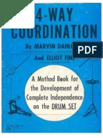 4 Way Coordination Marvin Dahlgren Drum