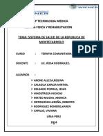 Sistema de Salud de La Republica de Montecarmelo Mirtha