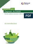 Healthcare Deposit Account
