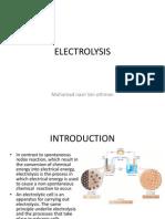 Topic 11 Electrolysisnew