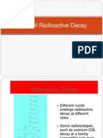 Topic 14.1 Rates of Radioactive Decay