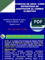 Cosecha de Agua - U.andina