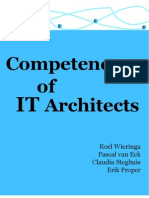 Competences of IT Architects