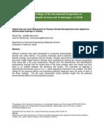 Xie - LCA Titanium Dioxide Nanoparticles