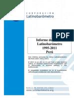 Latinobarometro Peru 1995-2011