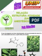 Qca Farm Aula 01 Sar-Anestésicos-2011