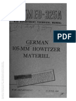 TM E9-325A GERMAN 105MM HOWITZER MATERIEL